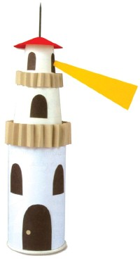 paper-craft-lighthouse